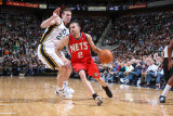 New Jersey Nets v Utah Jazz: Jordan Farmar and Gordon Hayward Photographic Print by Melissa Majchrzak