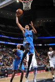 Oklahoma City Thunder v New Jersey Nets: Thabo Sefolosha Photographic Print by Jesse D. Garrabrant