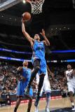 Oklahoma City Thunder v New Jersey Nets: Thabo Sefolosha Photographic Print by Jesse D. Garrabrant