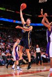 Indiana Pacers v Phoenix Suns: Mike Dunleavy Photographic Print by P.A. Molumby