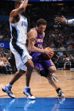 Phoenix Suns v Orlando Magic: Hedo Turkoglu and Rashard Lewis Photographic Print by Andrew Bernstein