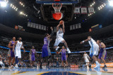 Phoenix Suns v Denver Nuggets: Aaron Afflalo and Hakim Warrick Photographic Print by Garrett Ellwood