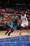 New Orleans Hornets v Los Angeles Clippers: Chris Paul and Eric Bledsoe Photographic Print by Noah Graham
