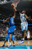 Dallas Mavericks v New Orleans Hornets: David West and Shawn Marion Photographic Print by Chris Graythen