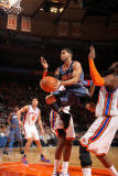 Charlotte Bobcats v New York Knicks: D.J. Augustin Photographic Print by Nathaniel S. Butler