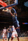 Denver Nuggets v New York Knicks: Carmelo Anthony and Amar'e Stoudemire Photographic Print by Nathaniel S. Butler