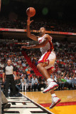 Detroit Pistons v Miami Heat: Juwan Howard Photographic Print by Victor Baldizon