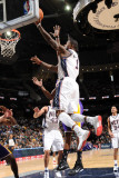 Los Angeles Lakers v New Jersey Nets: Terrence Williams Photographic Print by Andrew Bernstein