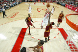 Cleveland Cavaliers v Houston Rockets: Kevin Martin and Daniel Gibson Photographic Print by Bill Baptist