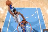New York Knicks v Denver Nuggets: Nene Photographic Print by Garrett Ellwood