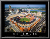 Busch Stadium Posters by Mike Smith
