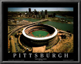 Pittsburgh - Three Rivers Stadium Final Season Prints by Mike Smith