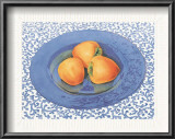 Persimmons Poster by Sharon Medler