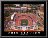Ohio Stadium Prints by Mike Smith