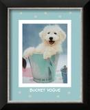 Bucket Vogue Prints by Rachael Hale