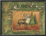 Caribou Poster by Anita Phillips