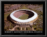 RFK Stadium - Washington Redskins World Champions 1991 Art by Mike Smith