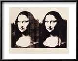 Double Mona Lisa, 1963 Art by Andy Warhol