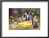 Snow White&#39;s Forest Friends Prints