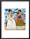 The Two Fridas, c.1939 Poster by Frida Kahlo