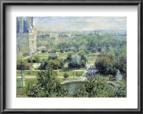 View of the Tuileries Gardens Prints by Claude Monet