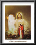 Christ Showing the Way Prints by Myung Bo