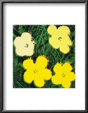 Flowers, c.1970 (Yellow) Prints by Andy Warhol