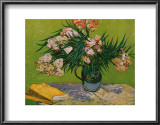 Still Life with Oleander Prints by Vincent van Gogh