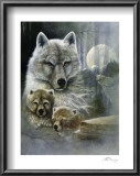 Mother&#39;s Protective Care Art by Ruane Manning
