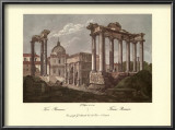 The Roman Forum Print by Alessandro Antonelli