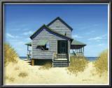 Ocean Front Bungalow Prints by Daniel Pollera