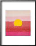 Sunset, c.1972 40/40 (pink) Print by Andy Warhol