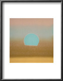 Sunset, c.1972 40/40 (gold, blue) Posters by Andy Warhol