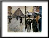 Paris, a Rainy Day, 1877 Print by Gustave Caillebotte