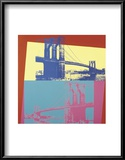 Brooklyn Bridge, 1983 Print by Andy Warhol