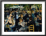 Le Moulin de la Galette c.1876 Prints by Pierre-Auguste Renoir