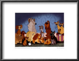 Cast of Lady and the Tramp Prints