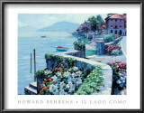 Lago Como Prints by Howard Behrens