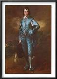 The Blue Boy Prints by Thomas Gainsborough