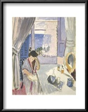 Woman Reading at a Dressing Table, Late 1919 Posters by Henri Matisse