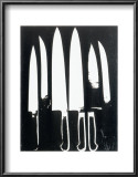 Knives, c.1981 (black and white) Poster by Andy Warhol