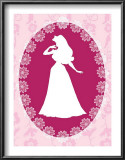 Sleeping Beauty Cameo Poster