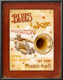 New Orleans Jazz IV Prints by Pela Design