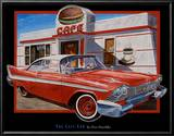 The Cafe Car Art by Don Stambler