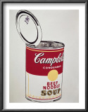Big Campbell's Soup Can, c.19 Cents, c.1962 Print by Andy Warhol