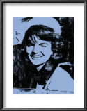 Jackie, c.1964 (blue) Posters by Andy Warhol