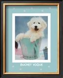 Bucket Vogue Print by Rachael Hale