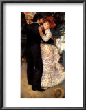 Dance in the Country Art by Pierre-Auguste Renoir