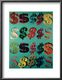 Dollar Signs, c.1981 Art by Andy Warhol
