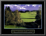 Determination: Golf Prints